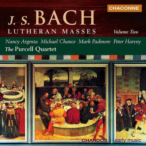 Purcell Quartet: Bach - Lutheran Masses vol.2 (FLAC)