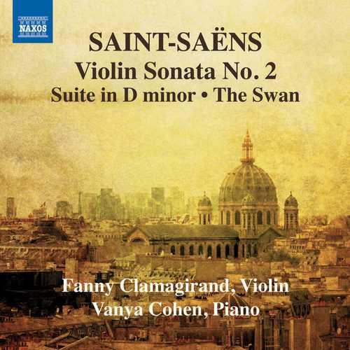 Clamagirand, Cohen: Saint-Saëns - Music for Violin and Piano vol.1 (FLAC)