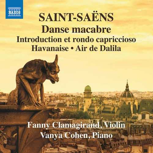 Clamagirand, Cohen: Saint-Saëns - Music for Violin and Piano vol.3 (24/96 FLAC)
