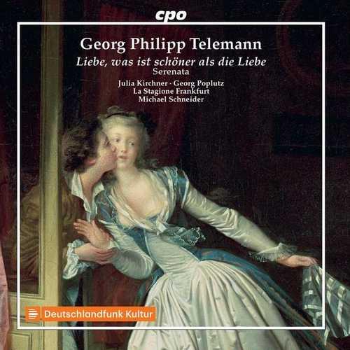 Schneider: Telemann - Liebe, was ist schöner als die Liebe (FLAC)