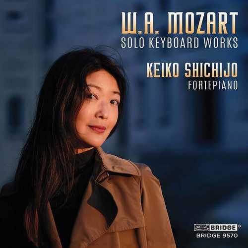 Keiko Shichijo: Mozart - Solo Keyboard Works (FLAC)