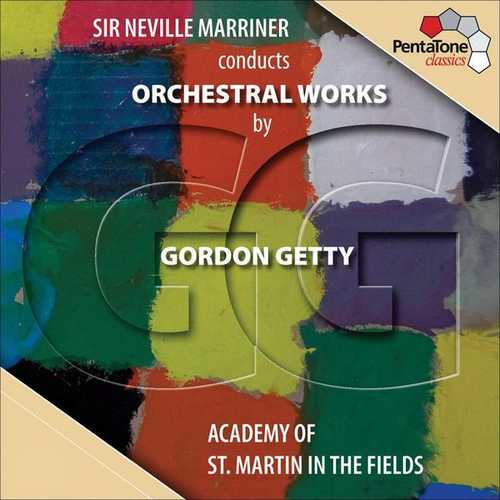 Sir Neville Marriner Conducts Orchestral Music by Gordon Getty (24/96 FLAC)