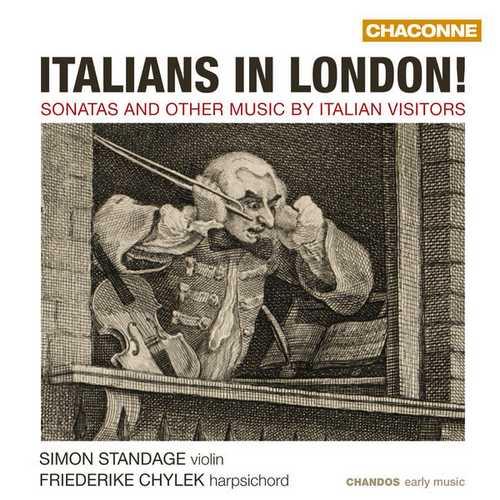 Simon Standage, Friederike Chylek - Italians in London! (24/48 FLAC)