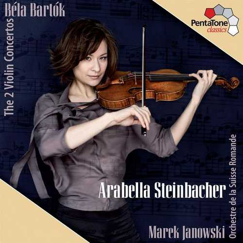 Steinbacher, Janowski: Bartók - The 2 Violin Concertos (24/96 FLAC)