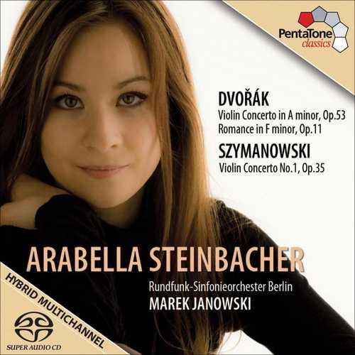 Steinbacher, Janowski: Dvořák - Violin Concerto in A, Romance; Szymanowski - Violin Concerto no.1 (24/96 FLAC)