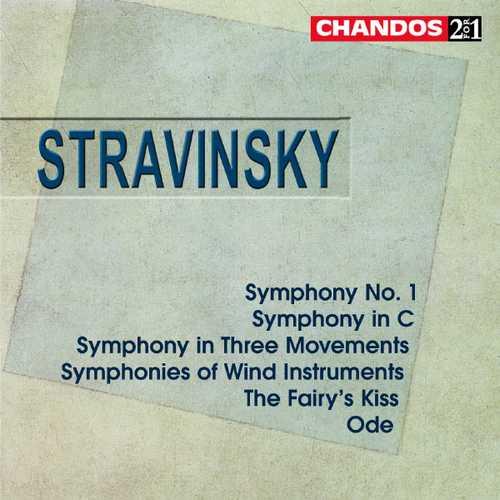 Gibson, Rattle, Järvi: Stravinsky - Symphonies, The Fairy's Kiss, Ode (FLAC)