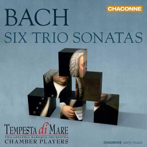 Tempesta di Mare: Bach - Six Trio Sonatas (24/88 FLAC)