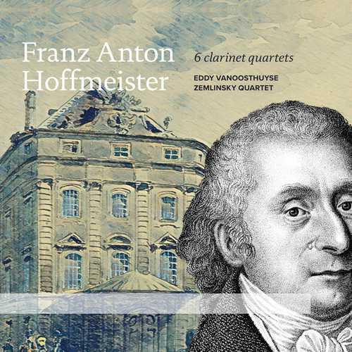 Vanoosthuyse: Hoffmeister - 6 Clarinet Quartets (24/96 FLAC)