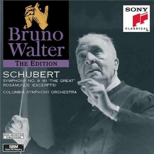 Walter: Schubert Symphony no.9, Rosamunde Excerpts (FLAC)