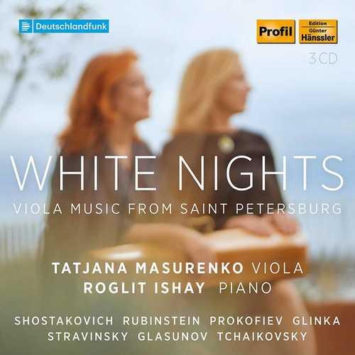 White Nights. Viola Music from Saint Petersburg (FLAC)