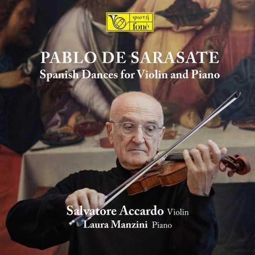 Accardo, Manzini: Sarasate - Spanish Dances for Violin and Piano (24/88 FLAC)