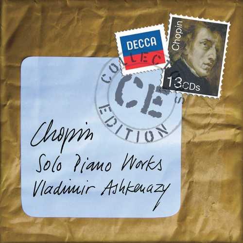 Ashkenazy: Chopin - Solo Piano Works (FLAC)