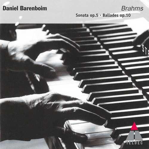 Barenboim: Brahms - Sonata op.5, Ballades op.10 (FLAC)
