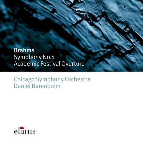 Barenboim: Brahms - Symphony no.1, Academic Festival Overture (FLAC)