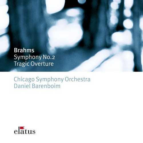 Barenboim: Brahms - Symphony no.2, Tragic Overture (FLAC)