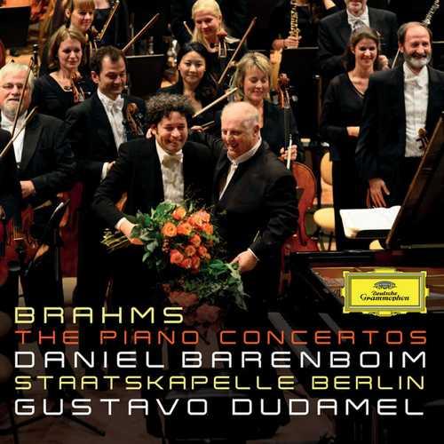 Barenboim, Dudamel: Brahms - The Piano Concertos (24/96 FLAC)