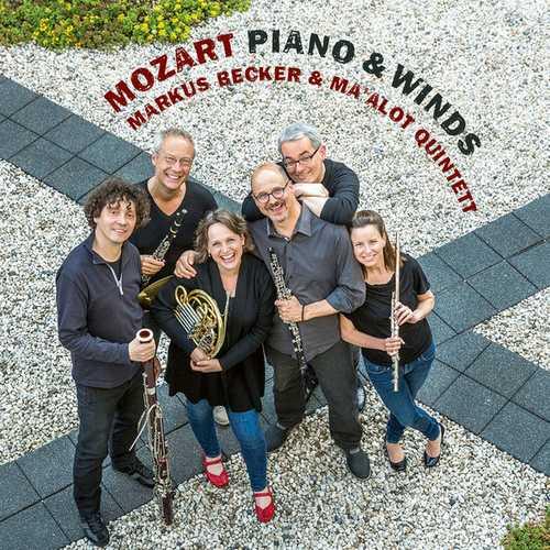 Markus Becker, Ma'alot Quintet: Mozart - Piano & Winds (24/48 FLAC)