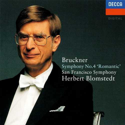 Blomstedt: Bruckner - Symphony no.4 Romantic (FLAC)