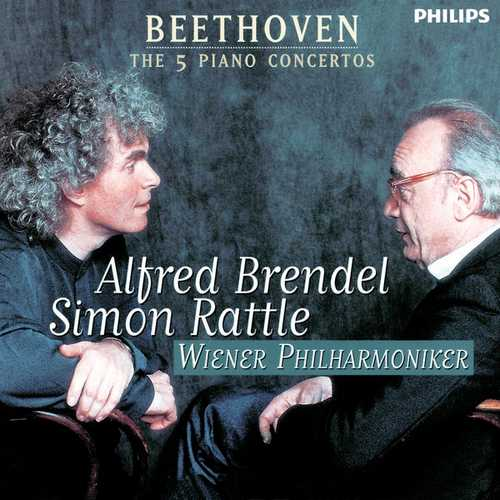 Brendel, Rattle: The 5 Piano Concertos (FLAC)