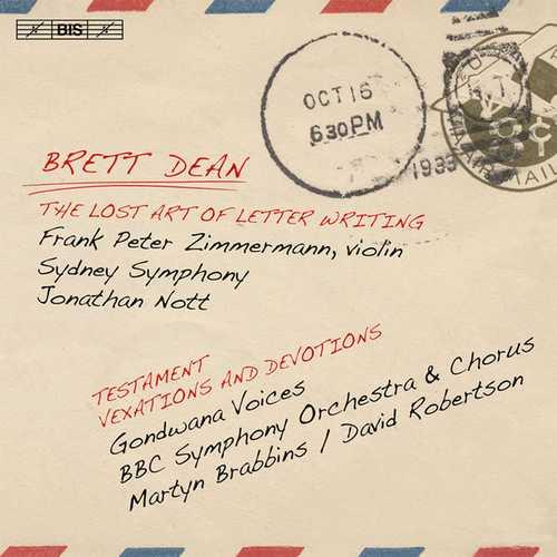 Brett Dean - The Lost Art of Letter Writing (FLAC)