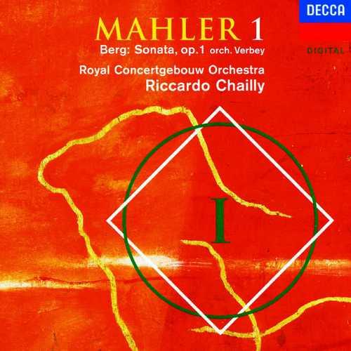 Chailly: Mahler - Symphony no.1; Berg - Sonata op.1 (FLAC)
