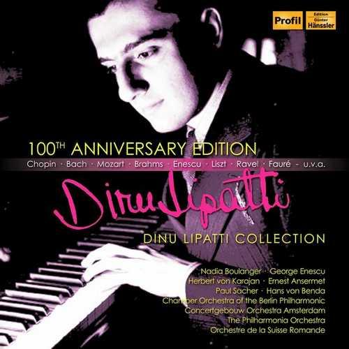 Dinu Lipatti Collection - 100th Anniversary Edition (FLAC)