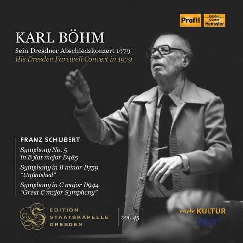 Edition Staatskapelle Dresden vol.45: Karl Böhm - His Dresden Farewell Concert in 1979 (FLAC)