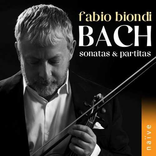 Fabio Biondi: Bach - Sonatas & Partitas (24/88 FLAC)