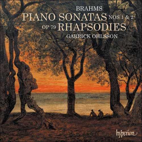 Garrick Ohlsson: Brahms - Piano Sonatas no.1, 2, 3, Rhapsodies op.79 (24/192 FLAC)