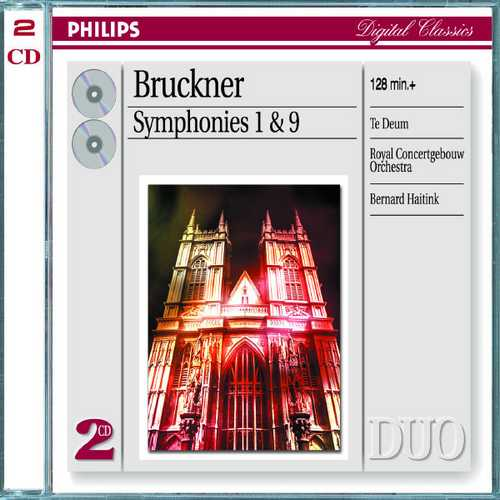 Haitink: Bruckner - Symphonies no.1 & 9, Te Deum (FLAC)