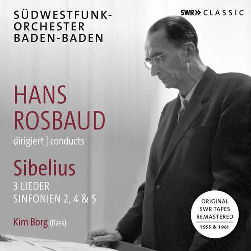 Hans Rosbaud Conducts Sibelius (24/48 FLAC)