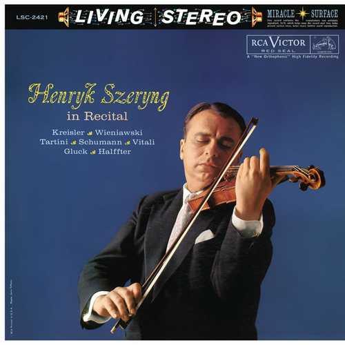 Henryk Szeryng in Recital (24/192 FLAC)