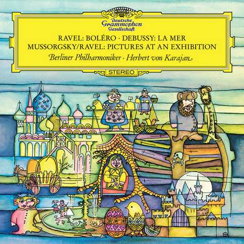 Karajan: Ravel - Boléro; Debussy - La Mer; Mussorgsky - Pictures at an Exhibition (24/96 FLAC)