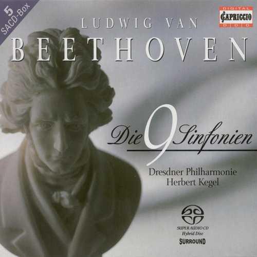 Kegel: Beethoven - The 9 Symphonies (FLAC)