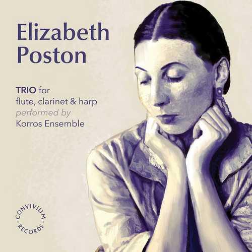 Korros Ensemble: Poston - Trio for Flute, Clarinet & Harp (24/192 FLAC)