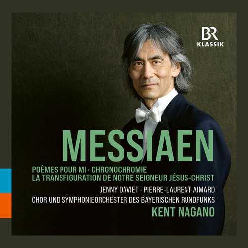 Nagano: Messiaen - Poèmes pour Mi, Chronochromie, La Transfiguration de Notre Seigneur Jesus-Christ (24/48 FLAC)