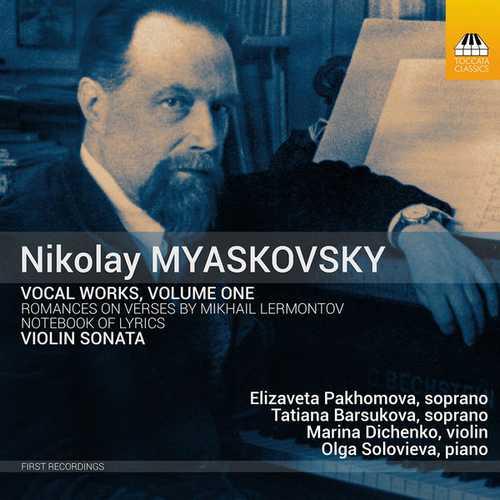 Nikolay Myaskovsky - Vocal Works vol.1 (24/44 FLAC)