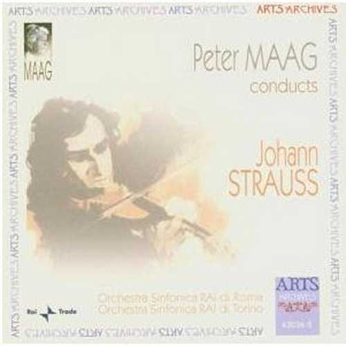 Peter Maag conducts Johann Strauss: Famous Waltzes & Polkas (FLAC)