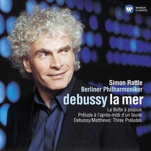 Rattle: Debussy - La Mer, Piano Preludes (24/44 FLAC)