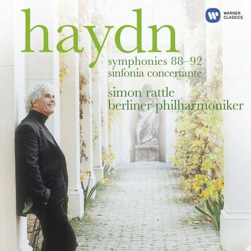 Rattle: Haydn - Symphonies no.88-92, Sinfonia Concertante (24/44 FLAC)