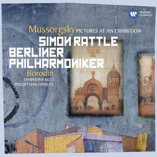 Rattle: Mussorgsky - Pictures at an Exhibition; Borodin - Symphony no.2 (24/44 FLAC)