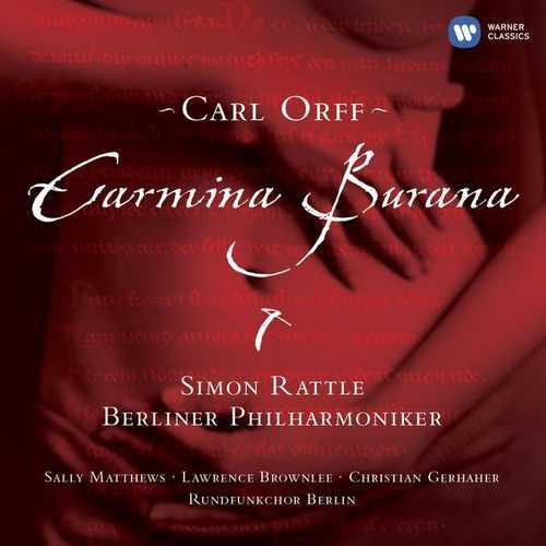 Rattle: Orff - Carmina Burana (24/44 FLAC)