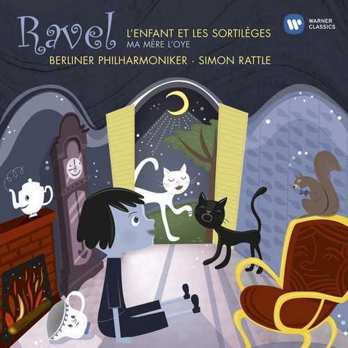 Rattle: Ravel - L'Enfant et les sortileges & Ma Mère l'Oye (24/44 FLAC)