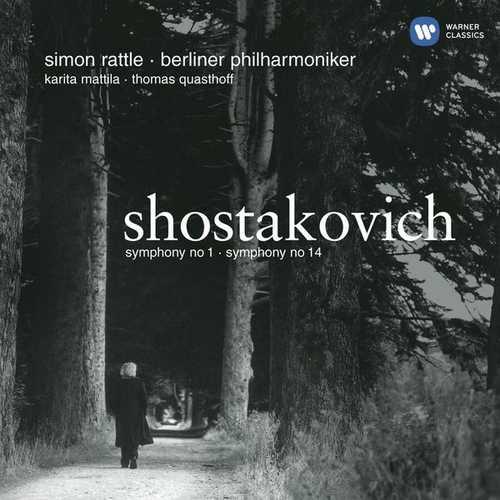 Rattle: Shostakovich - Symphonies no.1 & 14 (24/44 FLAC)