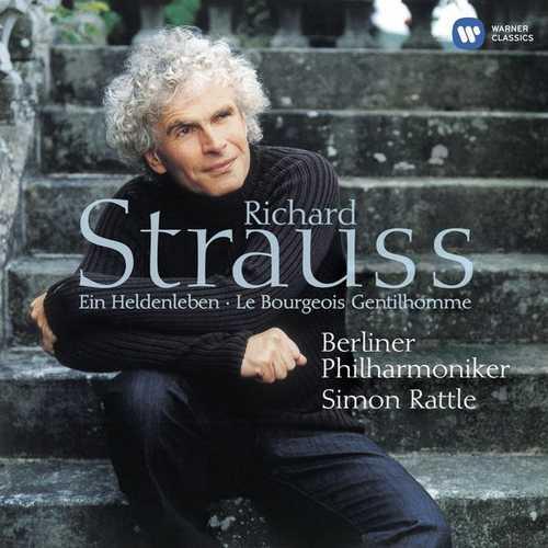 Rattle: Strauss - Ein Heldenleben, Le Bourgeois Gentilhomme (24/44 FLAC)