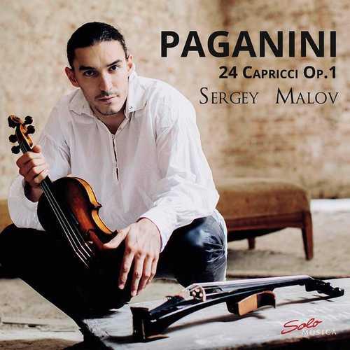 Sergey Malov: Paganini - 24 Capricci op.1 (24/96 FLAC)