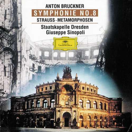 Sinopoli: Bruckner - Symphony no.8; Strauss - Metamorphosen (FLAC)
