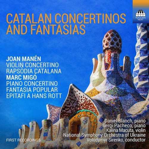 Sirenko: Migó, Manén - Catalan Concertinos & Fantasias (24/44 FLAC)