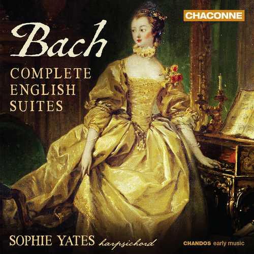 Sophie Yates: Bach - Complete English Suites (24/96 FLAC)