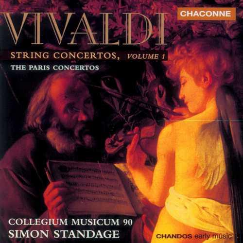 Standage: Vivaldi - String Concertos vol.1 (FLAC)